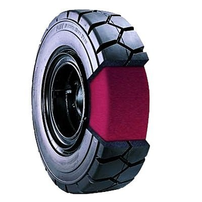 rubber filled tires
